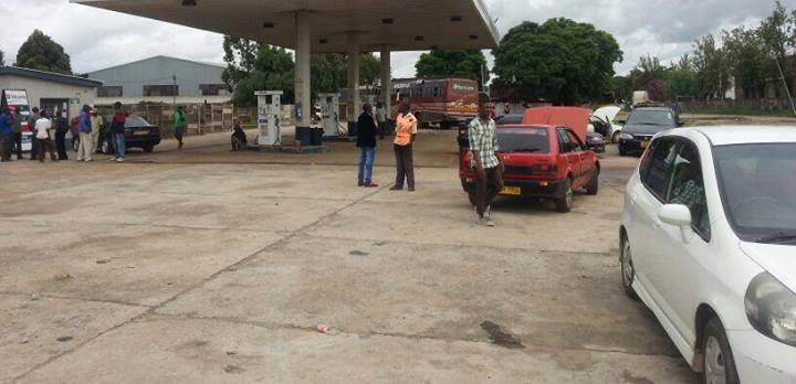 Fuel theft on fleet vehicles in Harare at fuel station